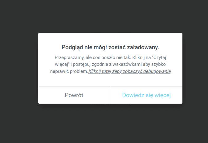 Jak naprawić problem z edytorem stron WordPress Elementor - Podgląd nie mógł zostać załadowany