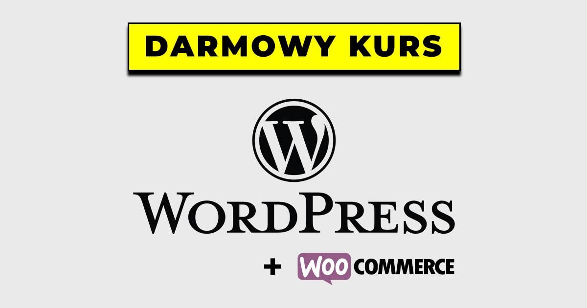 Darmowy kurs WordPress i WooCommerce od estartupy.pl