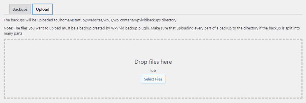 Jak wysłać kopie zapasową wordpress z dysku komputera na serwer naszej strony internetowej