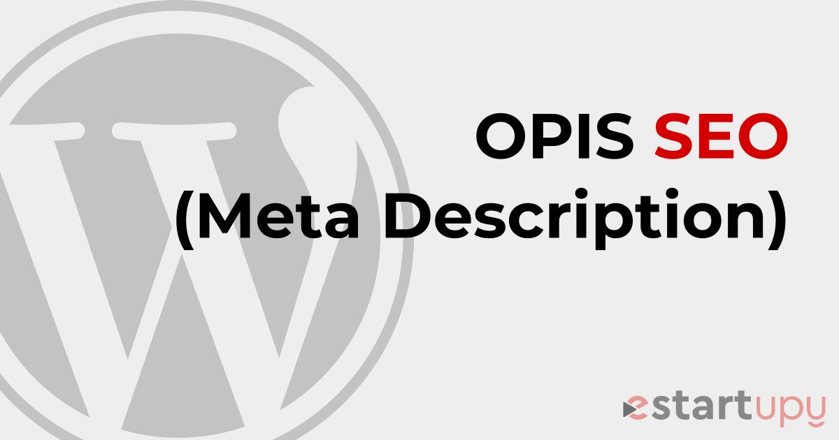 Co to jest i jak napisać meta opis (meta description), lub inaczej opis seo strony
